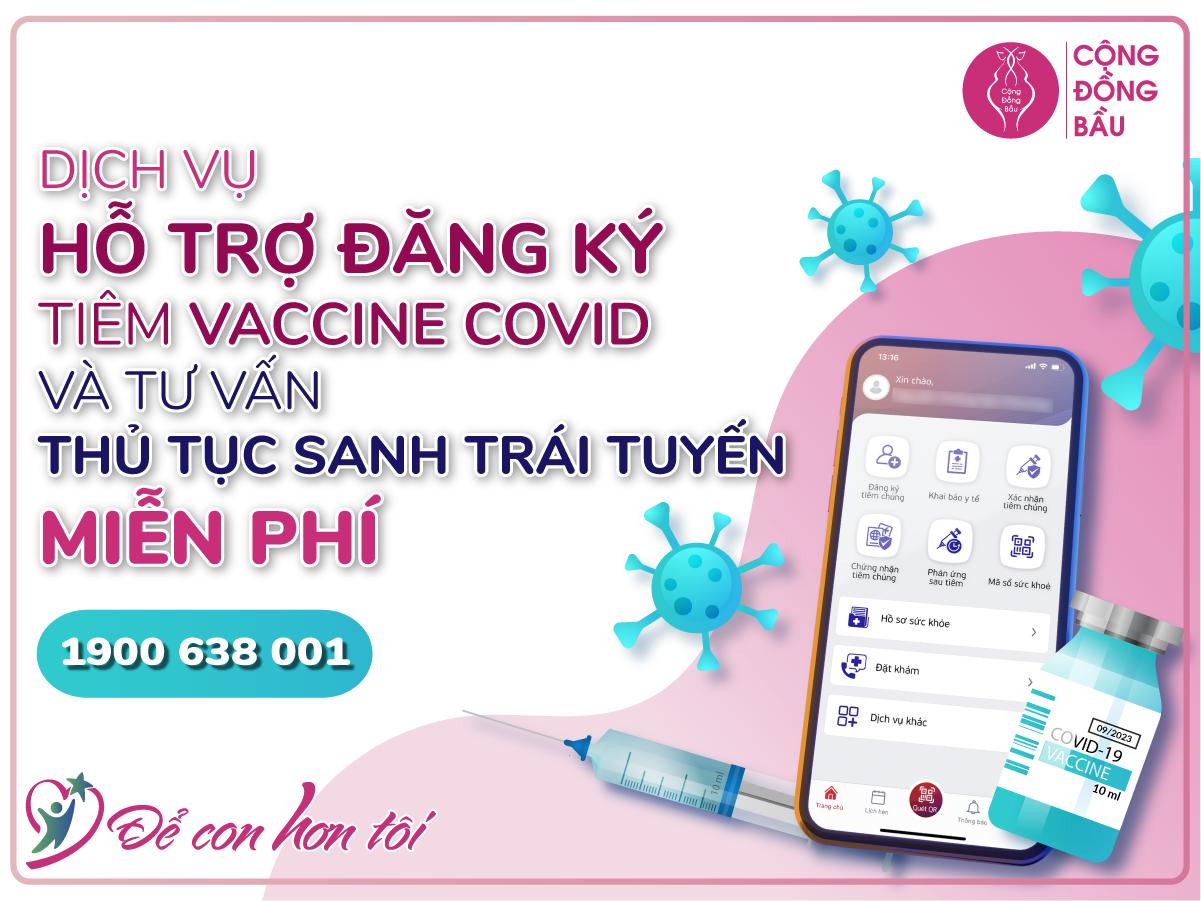 Đăng ký tiêm Vaccine Covid